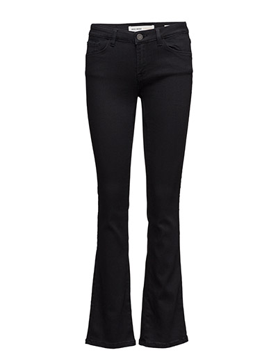 Athena Boot Cut Jeans - JET BLACK