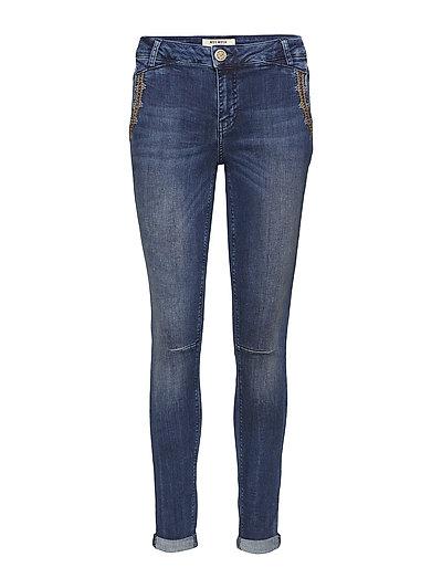 Etta Inca Jeans - BLUE DENIM