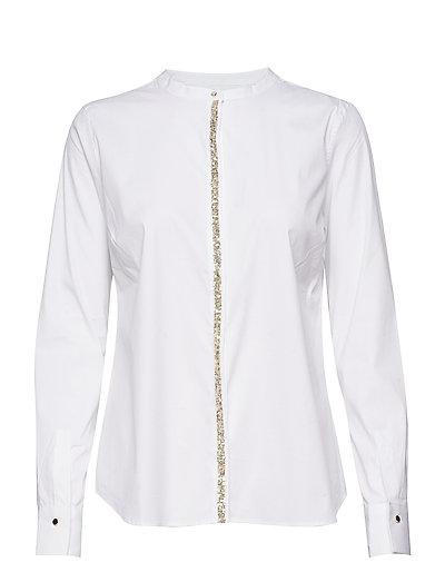 Maggie Shine Shirt - WHITE