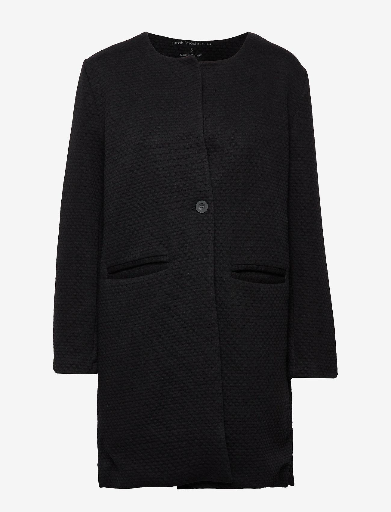 Moshi Moshi Mind - harmony jacket - cienkie płaszcze - black - 0
