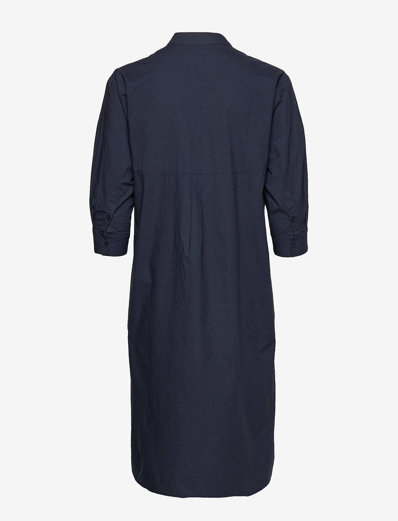 Moshi Moshi Mind - Kate Tunic Dress Crisp - korte jurken - blue - 1