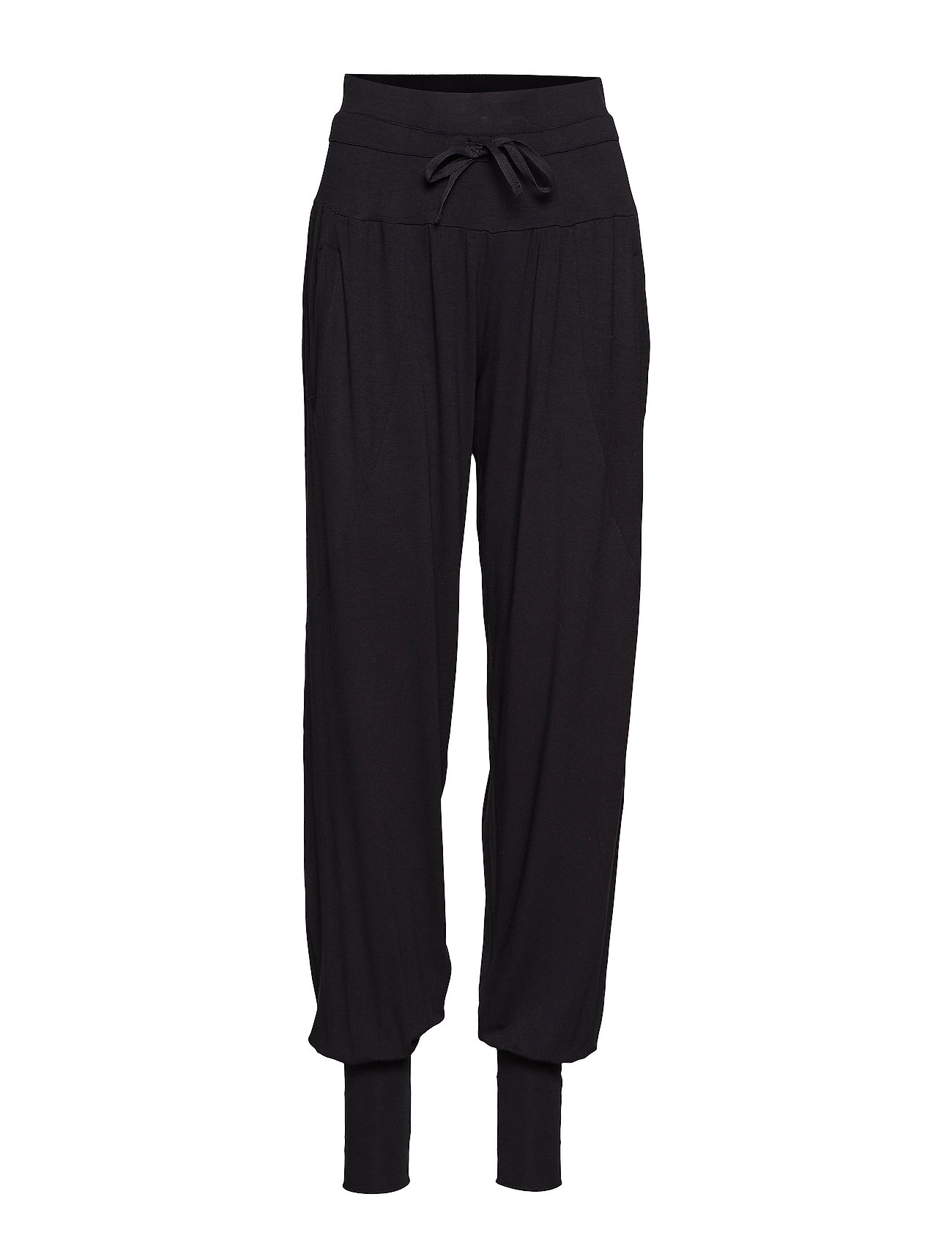 Moshi Moshi Mind pilou pants - BLACK
