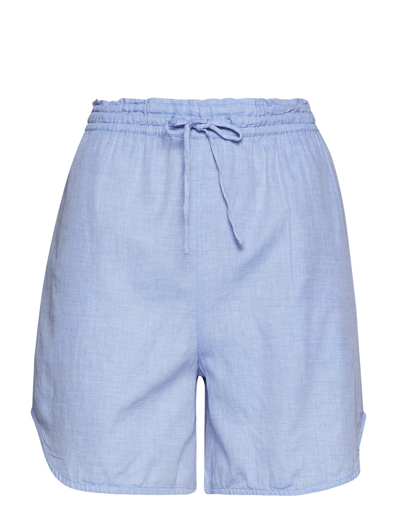 Moshi Moshi Mind beam shorts chambray - LIGHT BLUE CHAMBRAY