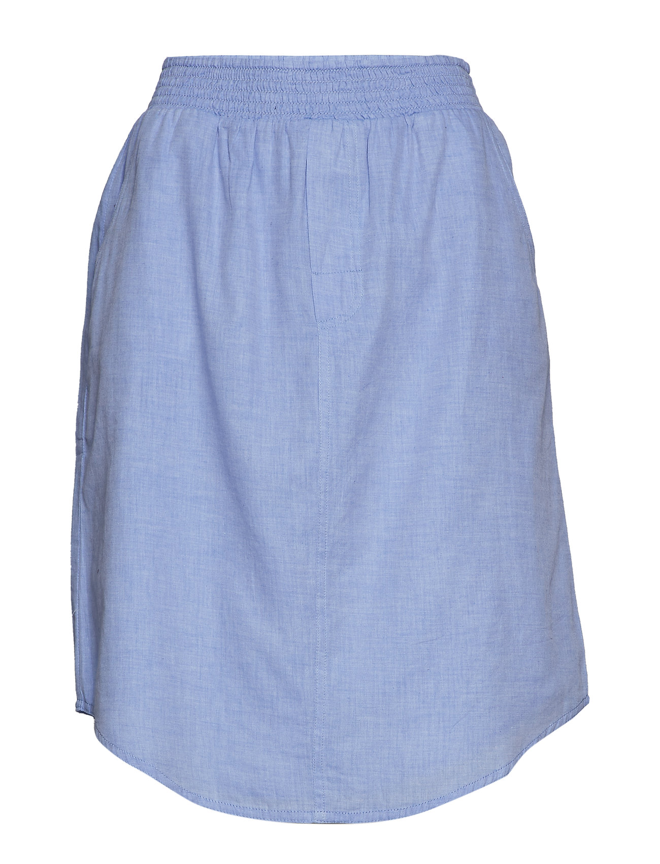 Moshi Moshi Mind boxer skirt chambray - LIGHT BLUE CHAMBRAY