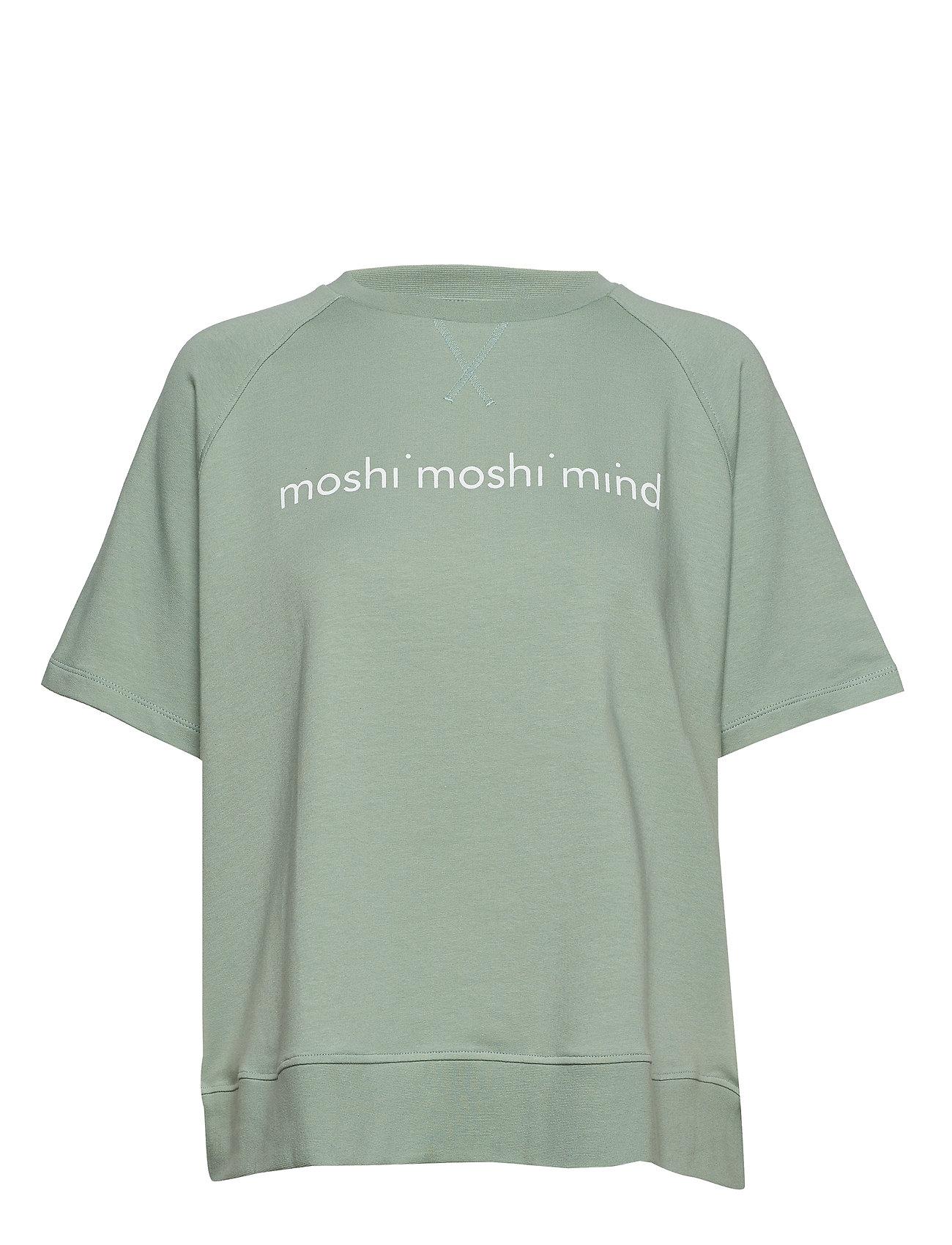 Moshi Moshi Mind umeko sweat - CHINOIS GREEN