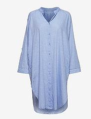 Moshi Moshi Mind - remain shirtdress chambray - nachtjurken - light blue chambray - 4