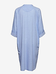 Moshi Moshi Mind - remain shirtdress chambray - nachtjurken - light blue chambray - 5