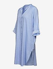 Moshi Moshi Mind - remain shirtdress chambray - nachtjurken - light blue chambray - 6