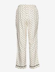 Moshi Moshi Mind - dotted rest pants - pyjama''s - ecru/black - 1