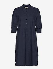 Moshi Moshi Mind - Kate Tunic Dress Crisp - korte jurken - blue - 0