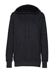 mindsoul hoodie - DARK GREY MELANGE