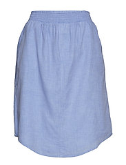 boxer skirt chambray - LIGHT BLUE CHAMBRAY