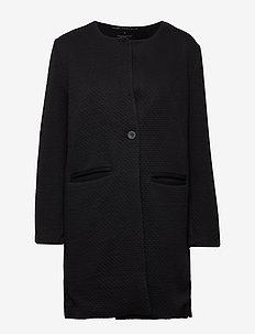 harmony jacket - cienkie płaszcze - black