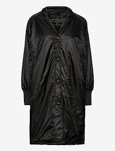 return jacket - light coats - black