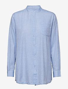 always shirt chambray - overhemden met lange mouwen - light blue chambray