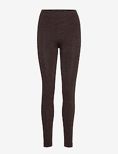 pulse pants melange - FRENCH BROWN/BLACK MELANGE