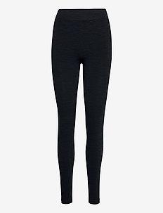 pulse pants melange - leggings - navy melange