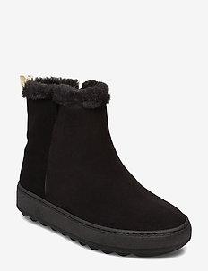 daily boots - lage hakken - black