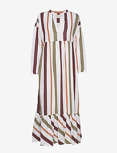 cara dress safari stripe - SAFARI STRIPE