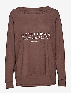 new wave sweat - FRENCH BROWN