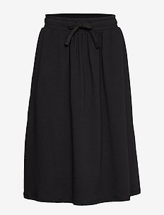 autumn skirt - BLACK