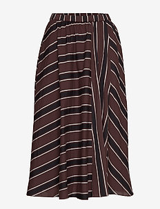 ceres skirt autumn stripe - AUTUMN STRIPE