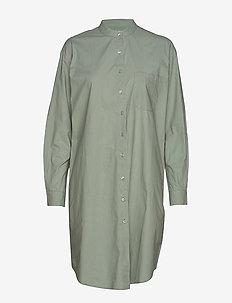 every shirtdress crisp - CHINOIS GREEN