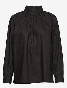 sand t-neck shirt crisp - MOONLESS NIGHT