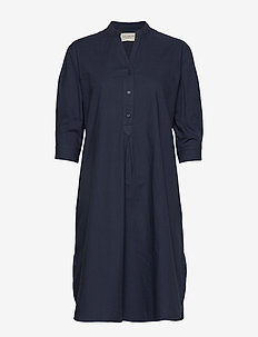 Kate Tunic Dress Crisp - blousejurken - blue
