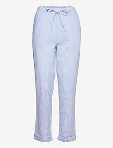 mind pants stripe - straight leg hosen - blue stripe