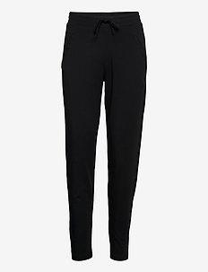 new fly pants lyocell - broeken med straight ben - black