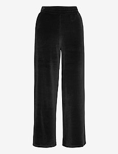 aspen pants velvet - sweatpants - black
