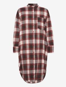 believe shirtdress check - skjortekjoler - warm check