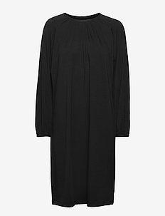bliss dress lyocell - midi kjoler - black