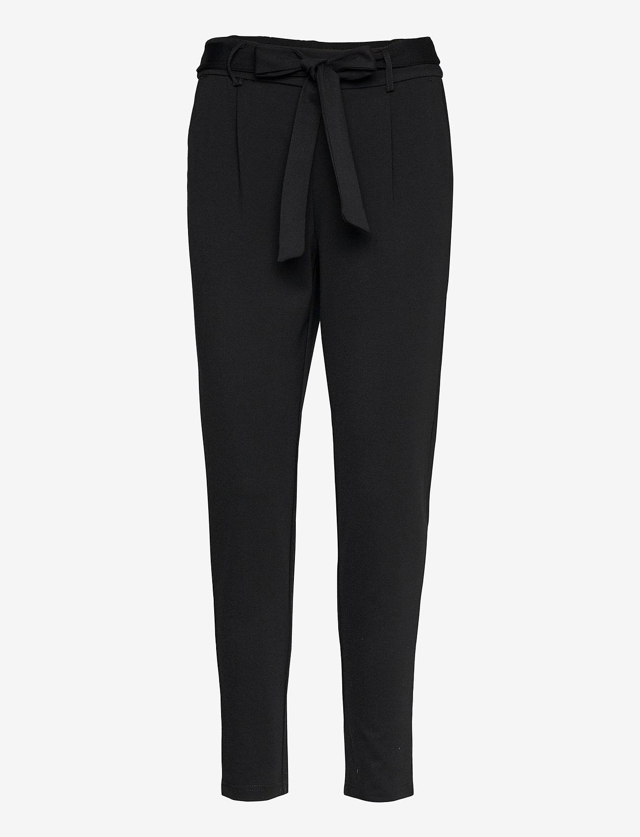 MOSS COPENHAGEN - Popye Pants - slim fit bukser - black - 0