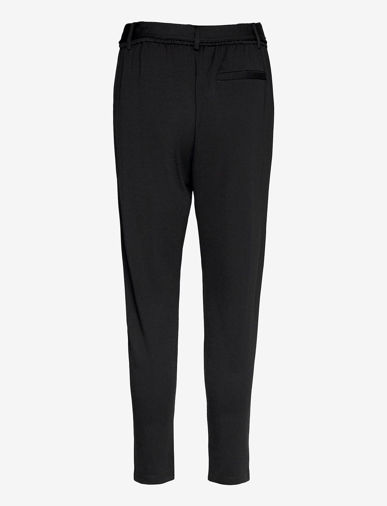 MOSS COPENHAGEN - Popye Pants - slim fit bukser - black - 1