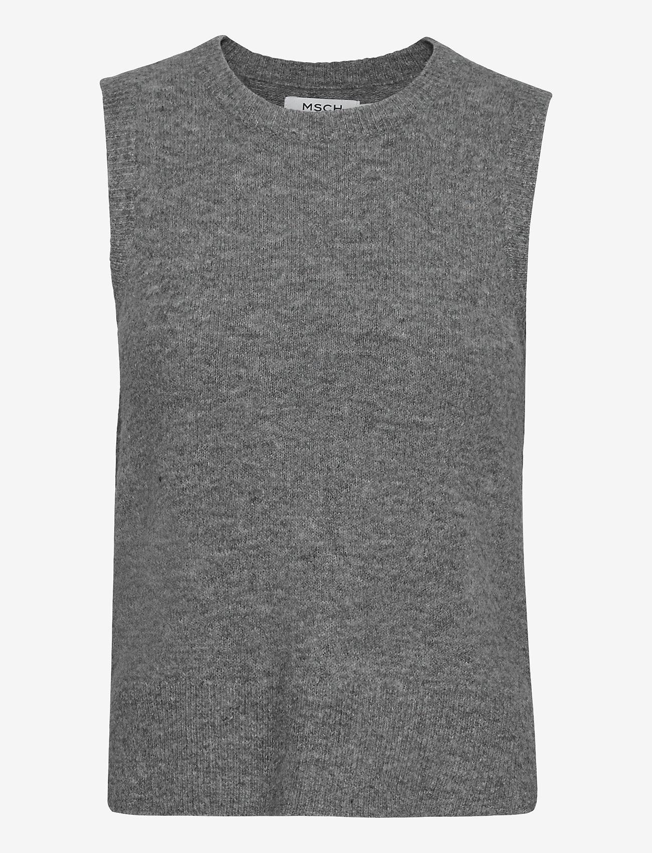 MOSS COPENHAGEN - Zenie Vest - knitted vests - mgm - 0
