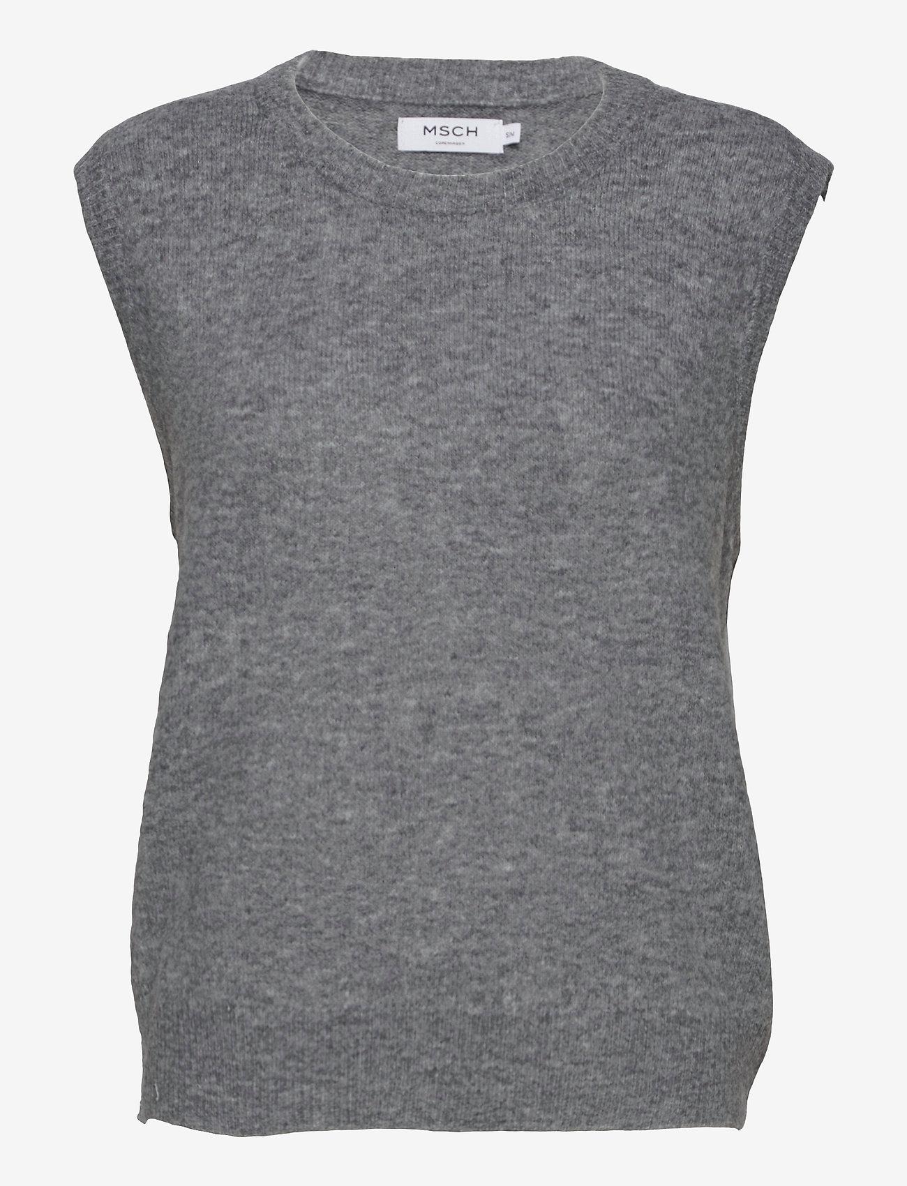 MOSS COPENHAGEN - Cardea Zenie Vest - knitted vests - mgm - 0