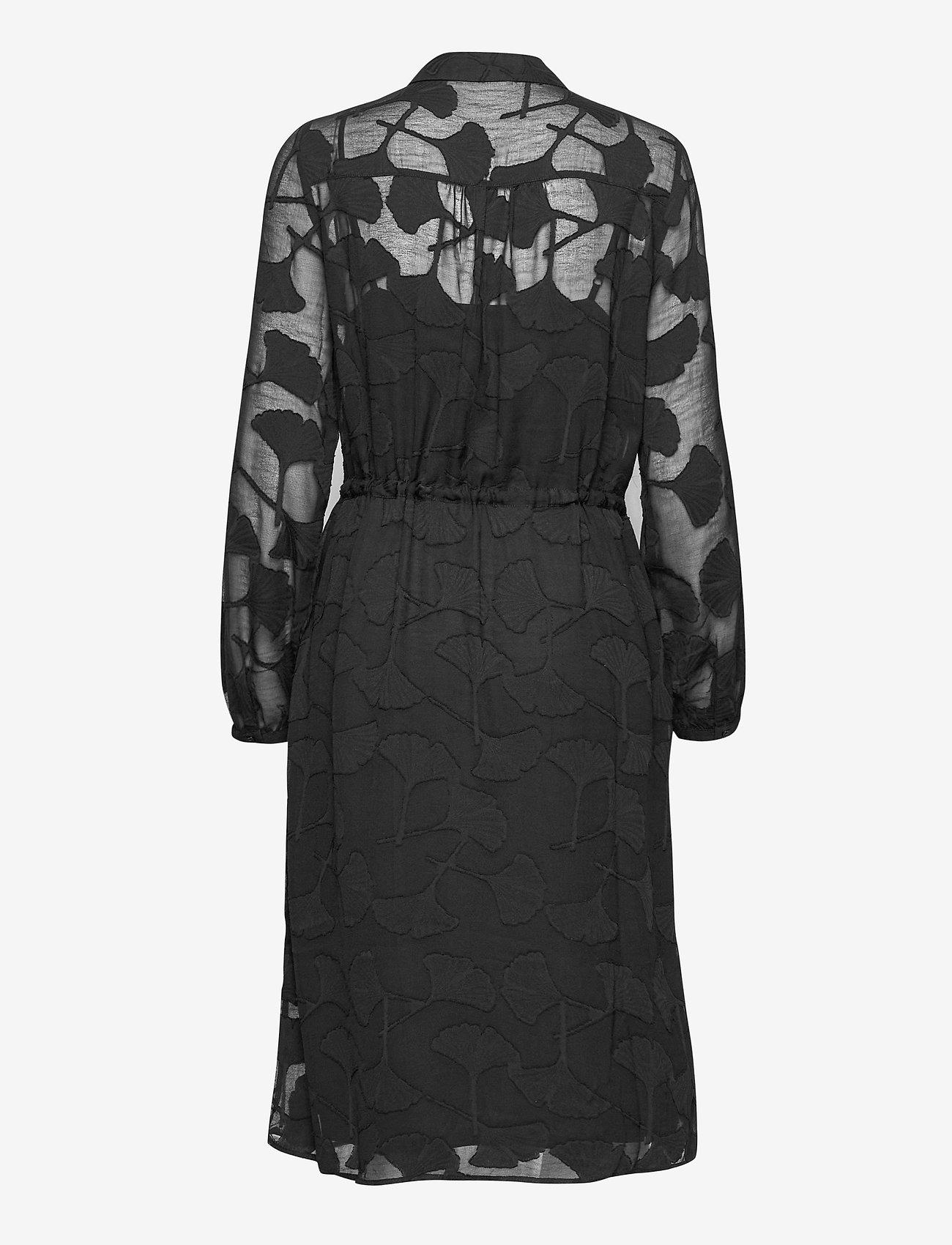MOSS COPENHAGEN - Serice LS Dress - cocktail-kjoler - black - 1