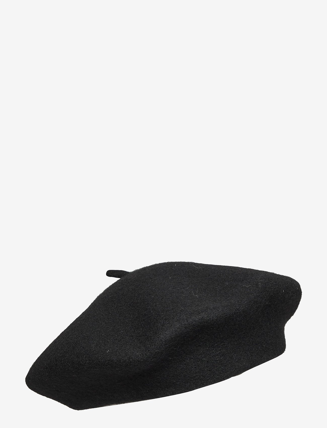 MOSS COPENHAGEN - Beret Hat - hattar - black - 0