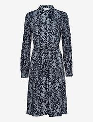 MOSS COPENHAGEN - Amaya Raye LS Dress AOP - sommerkjoler - s cap flower - 0