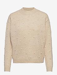 MOSS COPENHAGEN - Jene Pullover - sweaters - w pepper/bellin - 0