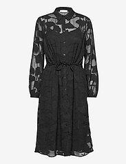 MOSS COPENHAGEN - Serice LS Dress - cocktail-kjoler - black - 0