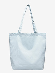 MOSS COPENHAGEN - Organic Logo Shopper - tote bags - omphalodes/sky - 1