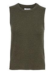 Zenie Vest - ARMY GREEN