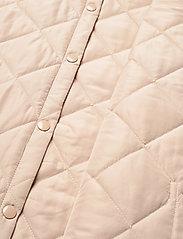 MOSS COPENHAGEN - Haven Deya Waistcoat - puffer vests - white pepper - 4