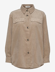 Charis Jeppi Overshirt - overshirts - white pepper