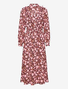 Frix Maxi Dress AOP - blousejurken - blush flower