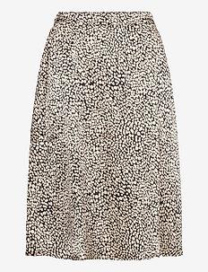 Katinka Skirt AOP - spódnice mini - wht pepper dot