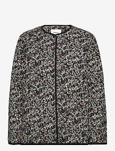 Glorie Jacket AOP - colberts - black flower
